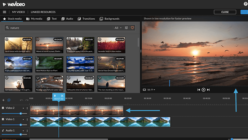 =wevideo online mp4 editor