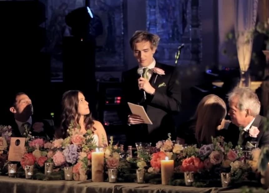 my wedding speech