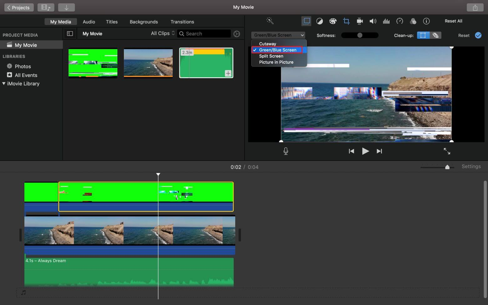 how to create youtube intro in imovie