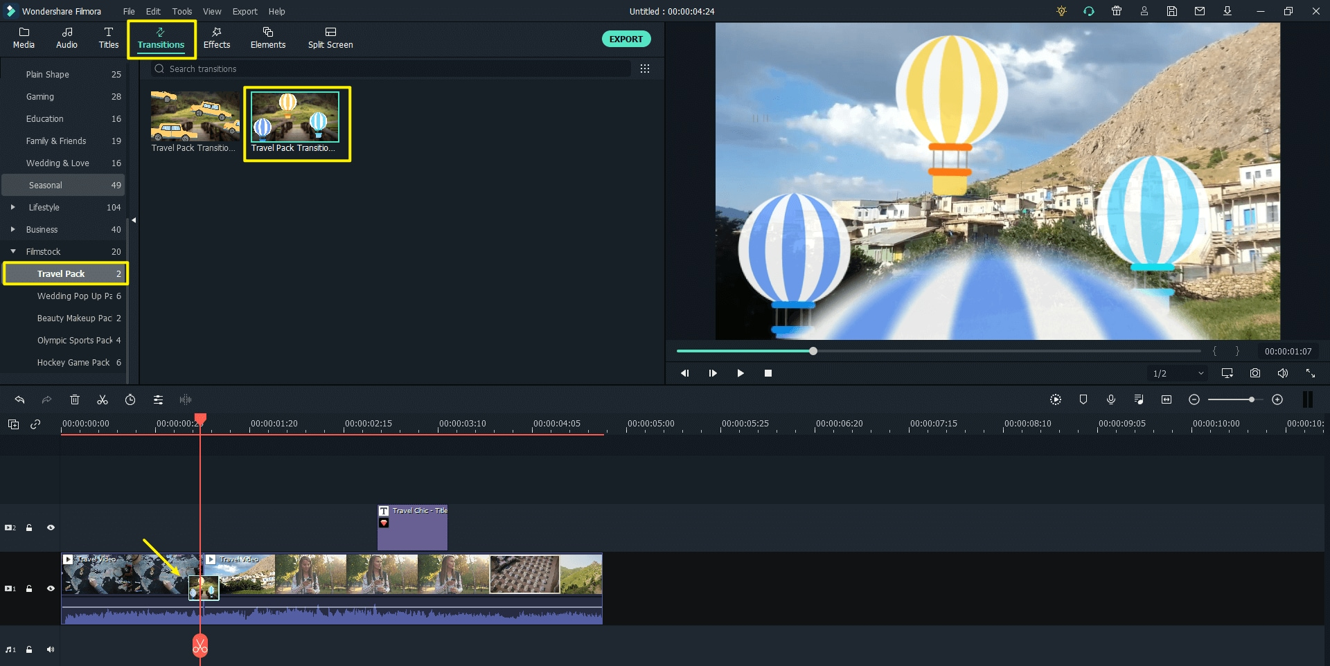 youtube-intro-travel-transition