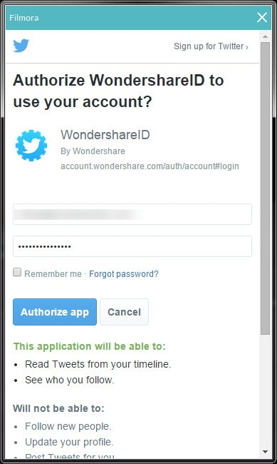 how to create wondershare id