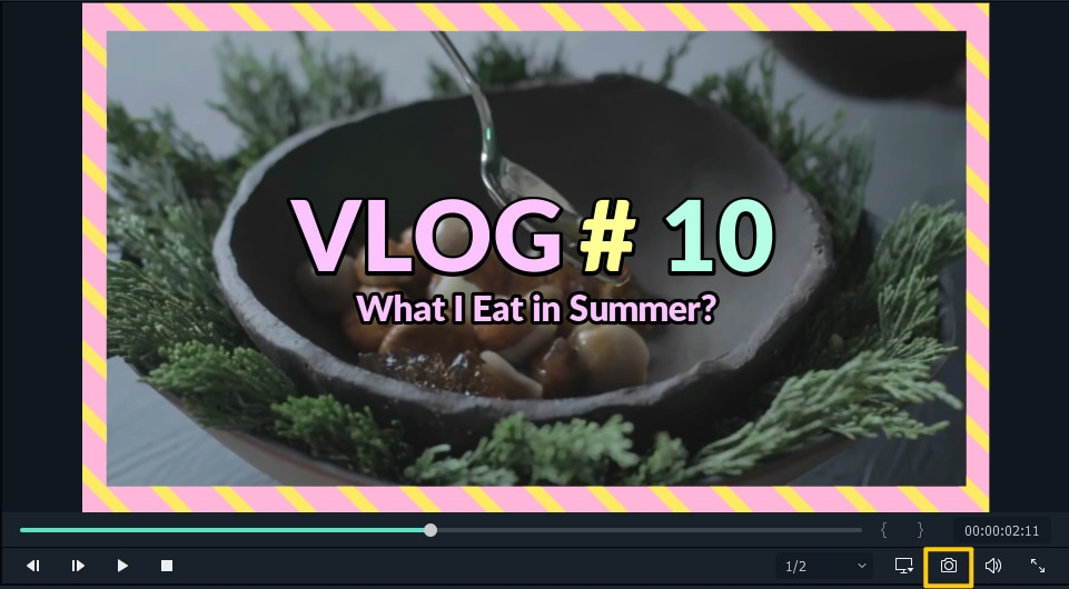 take screenshot for thumbnail