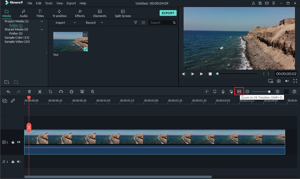 add text in video using filmora