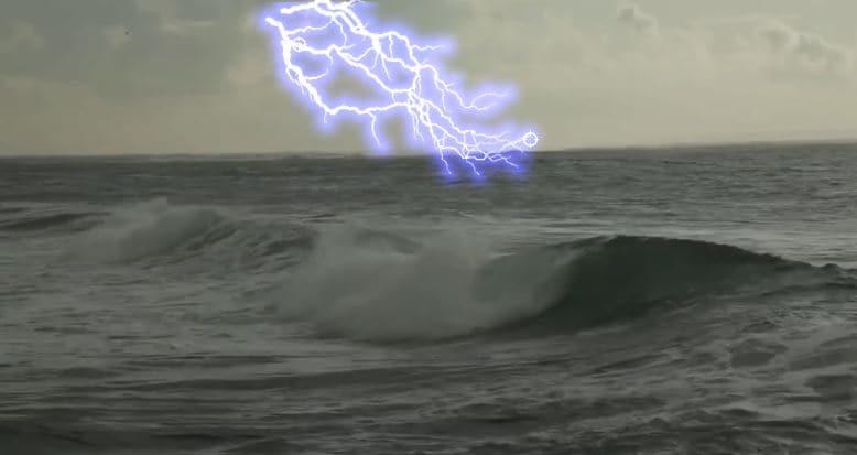 lightning electricity