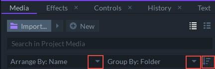 media grouping
