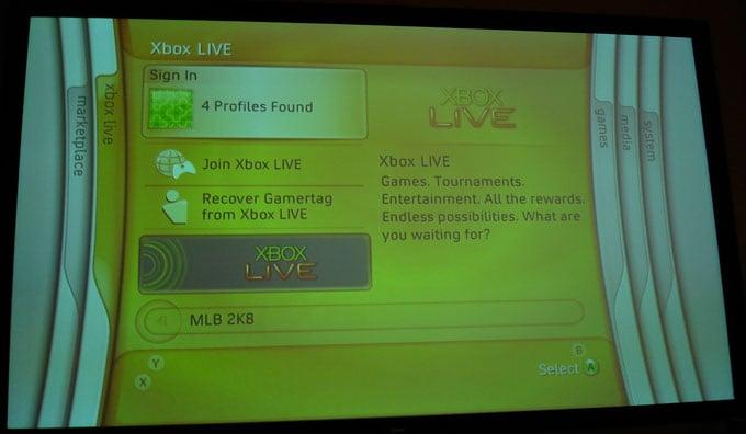 Xbox 360 - Dashboard