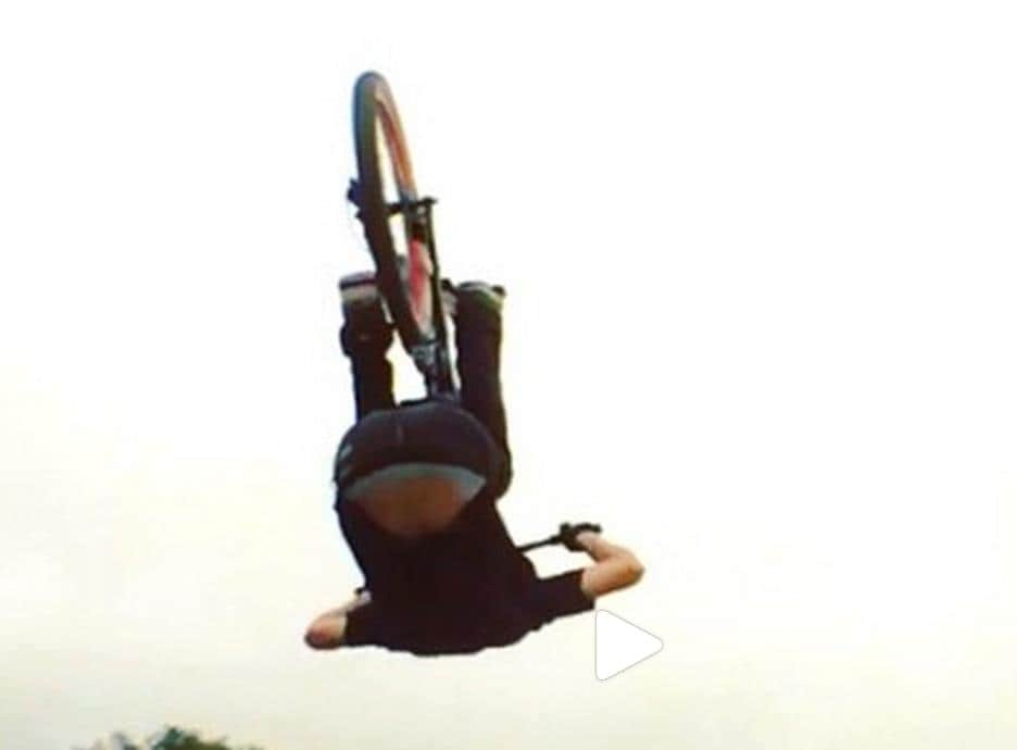 backflips on bike