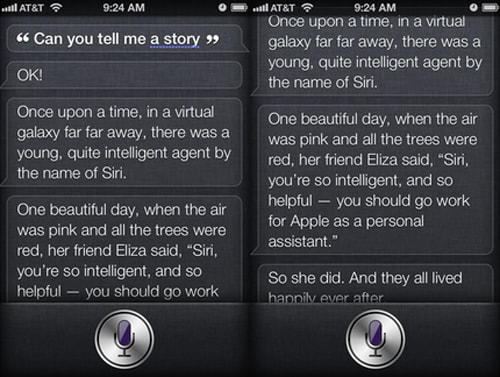 When You Tell Siri