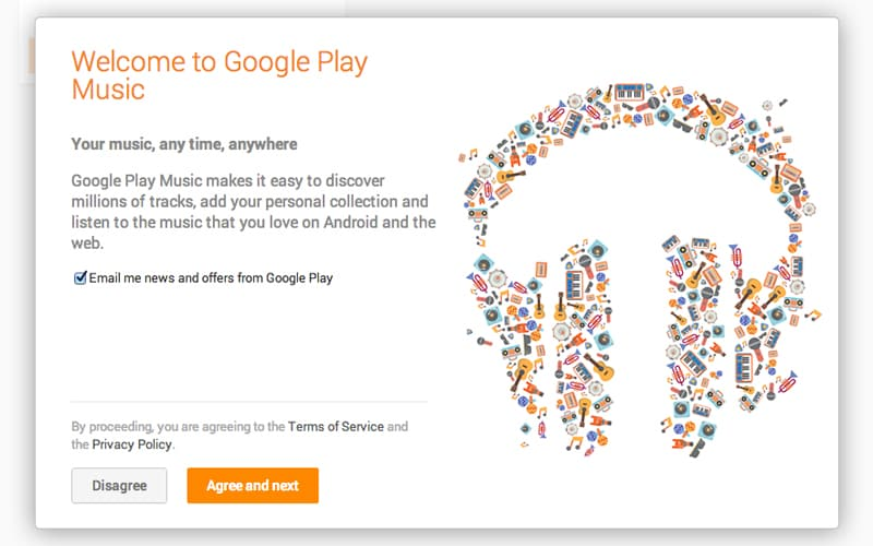 how to buy google play music