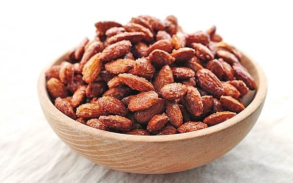 Honey-Roasted Almonds