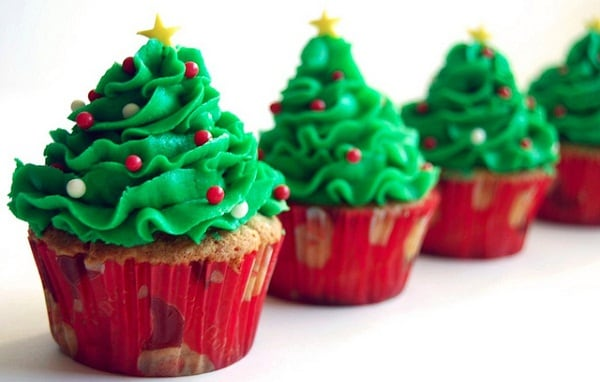 The Best Cupcakes for Christmas in 2015