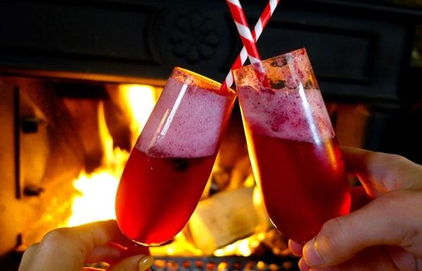 Make cocktail for Christmase