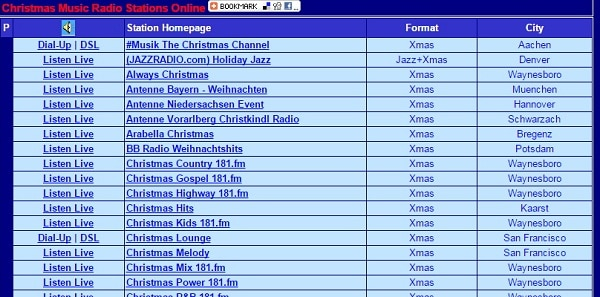 surfmusic live radio stations what station is christmas - What Is The Christmas Radio Station