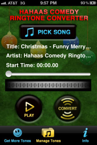 Christmas Ringtone Converter