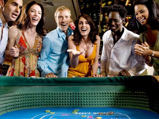 Night in Casino