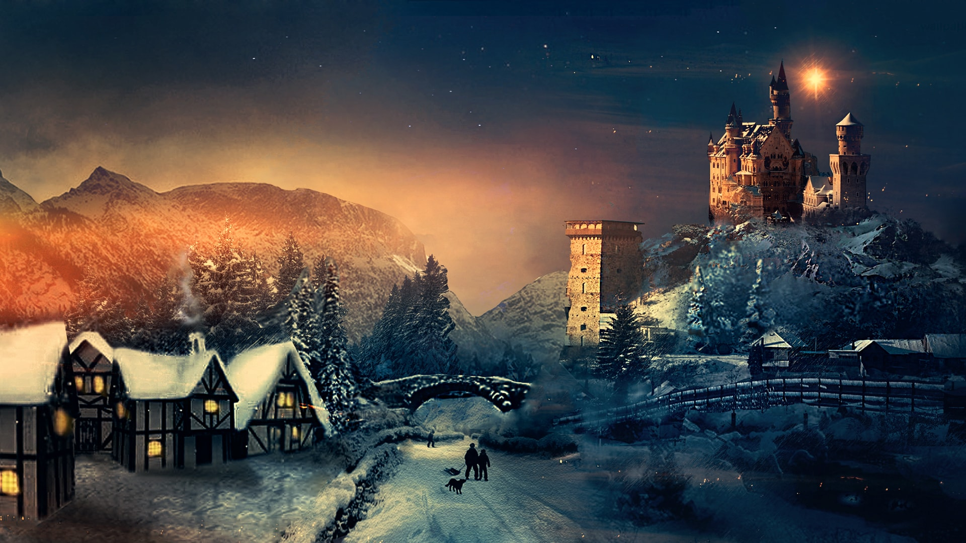 Hd Christmas Wallpaper.Get The Latest Hd Christmas Wallpapers For Free