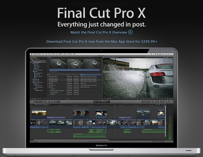 how to split audio from video final cut pro