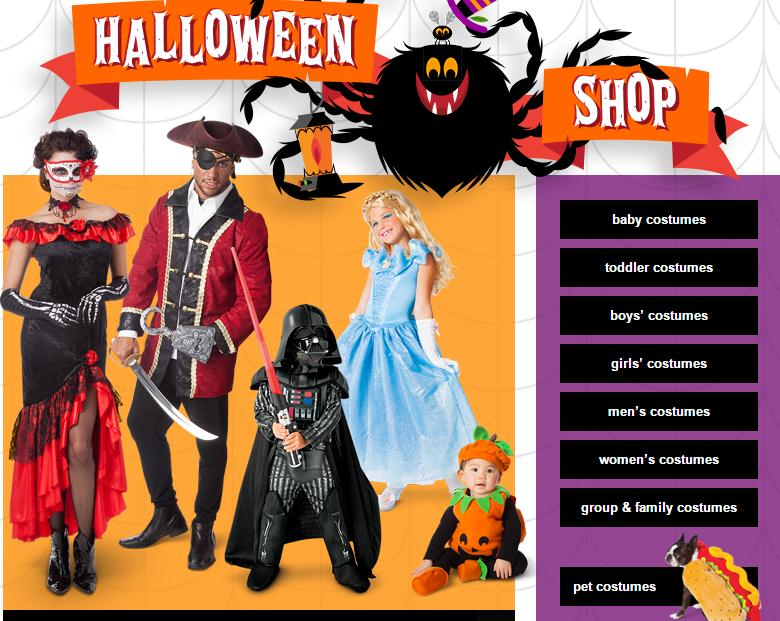 Target  sc 1 st  iSkysoft & Top 10 Halloween Store Online to Buy Cheap Halloween Costumes
