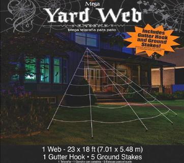 Mega Yard Spider Web