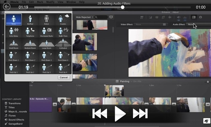 problems with imovie
