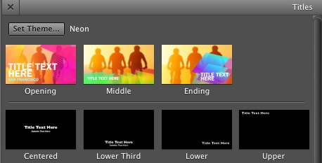 iMovie Themes: Top 10 Popular Themes in iMovie