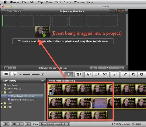 imovie finalize project Imovie will not finalize project when i try to finalize the project, it will only attempt to finalize in 1080p even though my video input was.