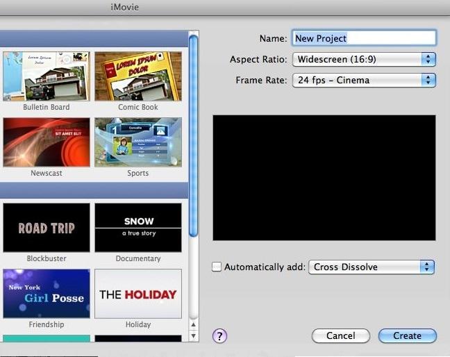 iMovie Tutorial on mac