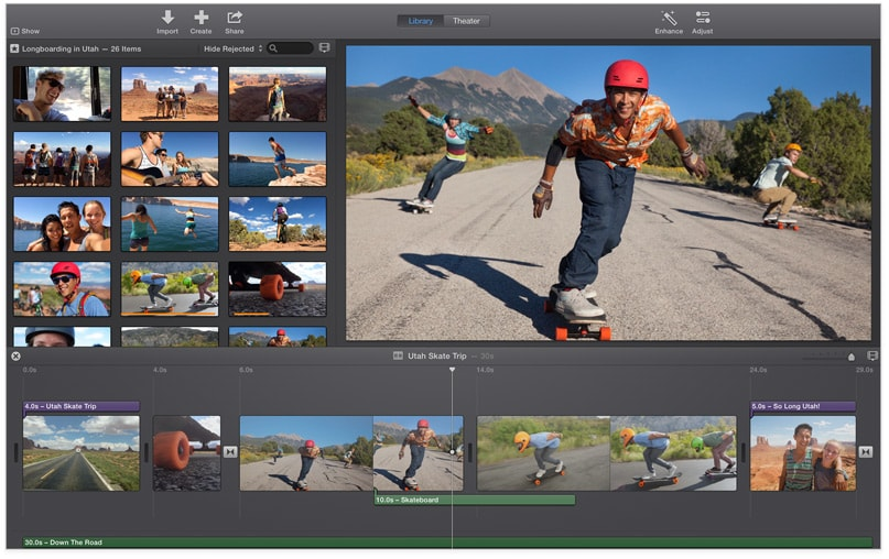 export from imovie