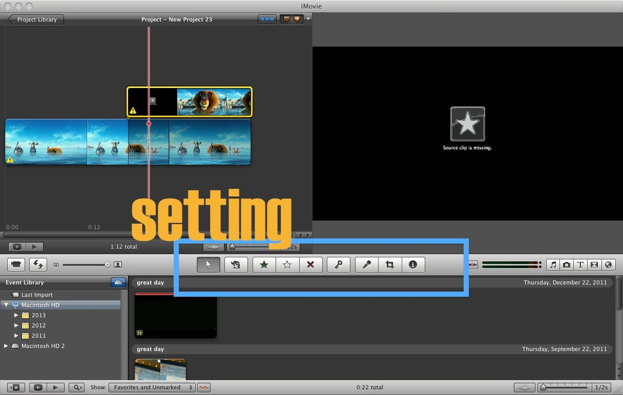 can imovie rotate videos