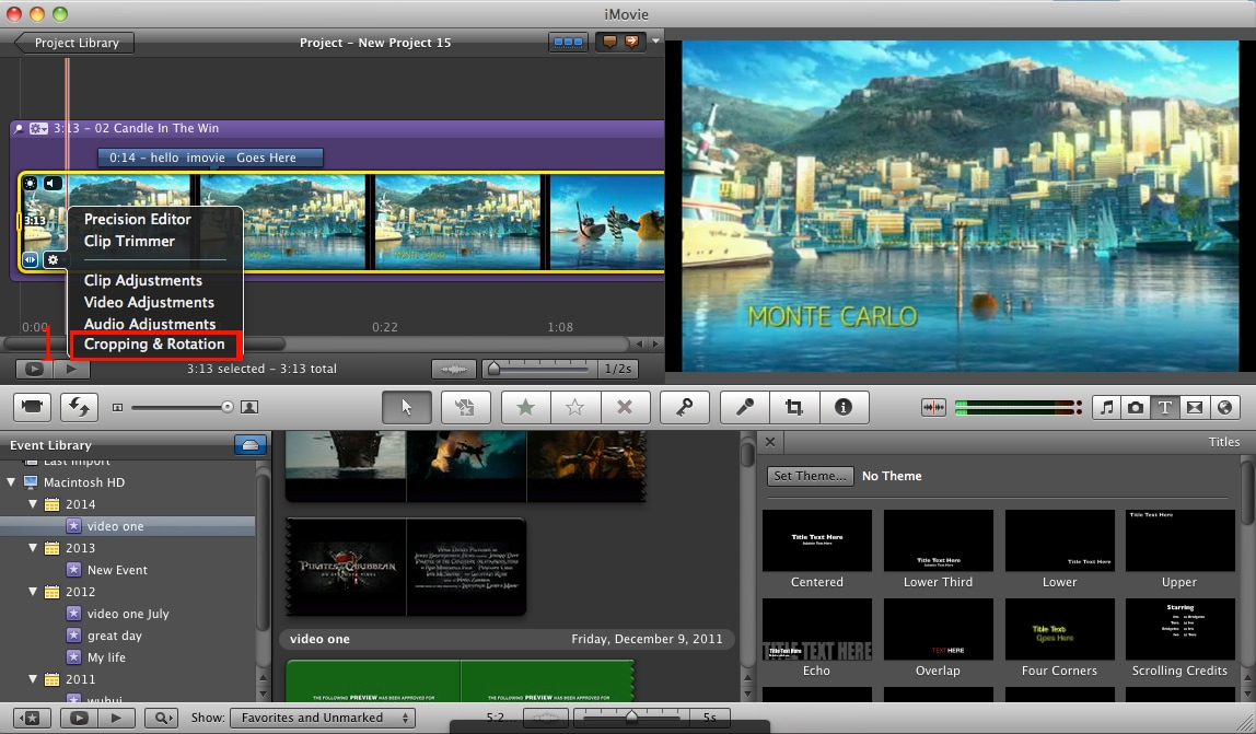 Imovie rotate video how to rotate video in imovie imovie rotate videos ccuart Choice Image
