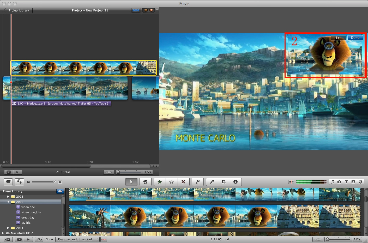 Imovie 11 Split Screen How To Do The Split Screen In The New Imovie