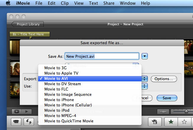 how to burn imovie to dvd 2018