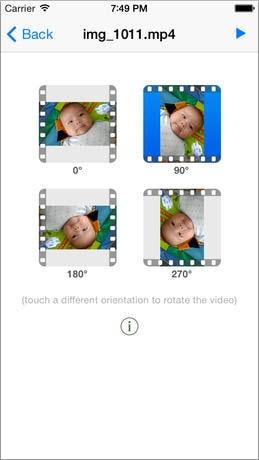 video drehen app