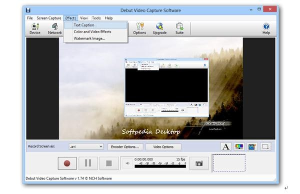 Debut Video Recorder Software