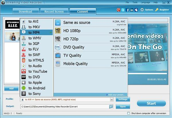 Top 5 Best MP4 Video Recorder to Record Video in HD MP4