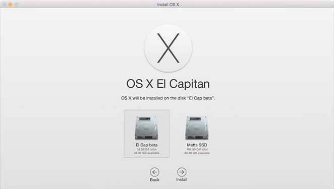 upgrade to mac el capitan