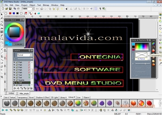 dvd menu studio