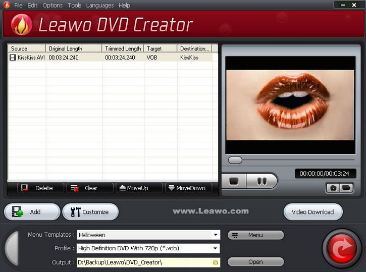 Leavo DVD Creator