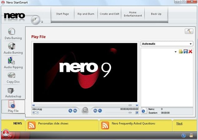 convert mp4 to dvd in nero