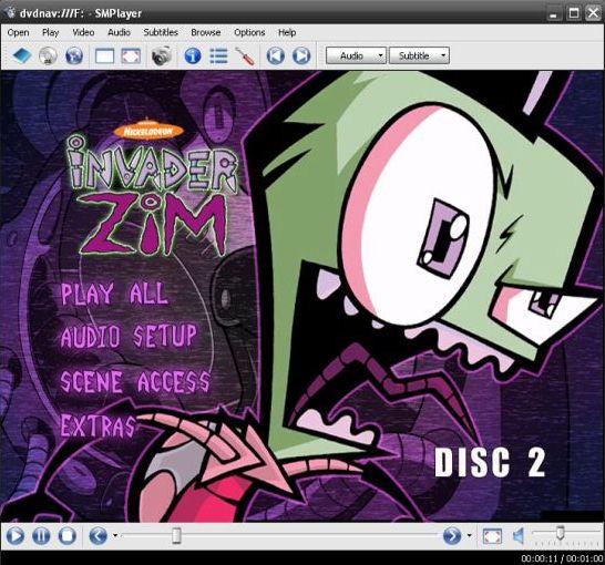 DVD Menu in Smplayer
