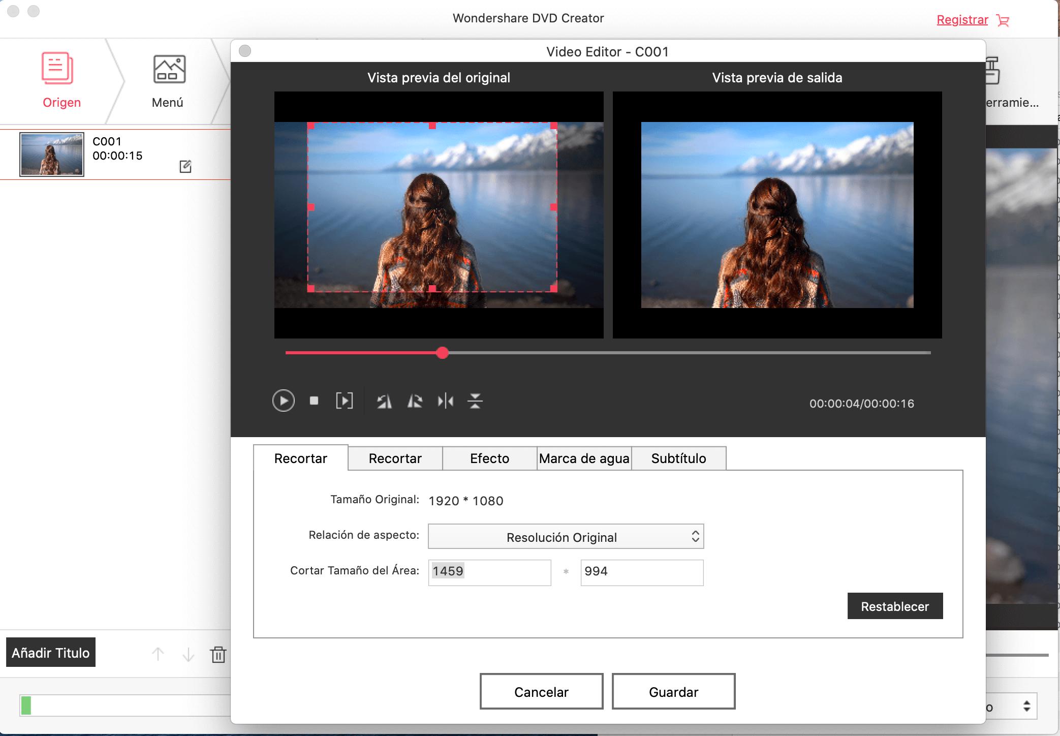creador dvd para mac