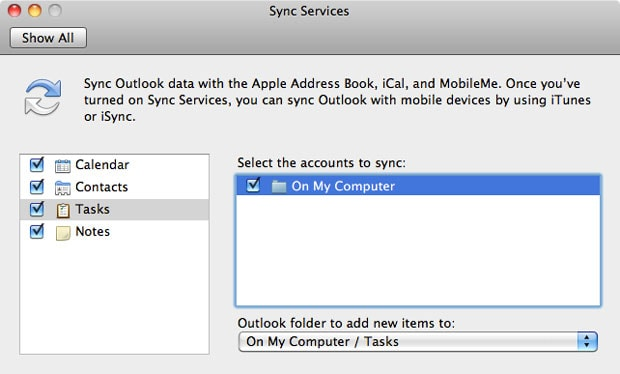 sync onenote with iphone
