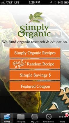 Simply Organic Recipes