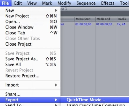 how to export file in final cut pro x