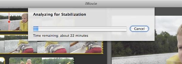 Fix shaky video on iPad