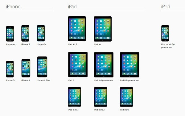 Ios 9 compatibility