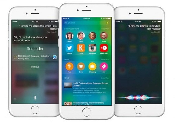 Ios 9 proactive assistant