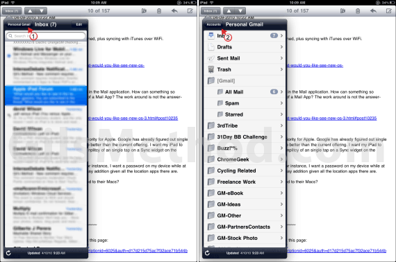 Ipad email tips amp ipad email issues