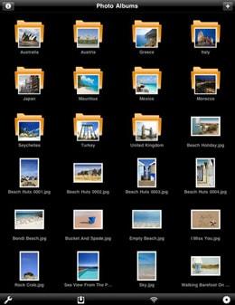 iPad photo albums