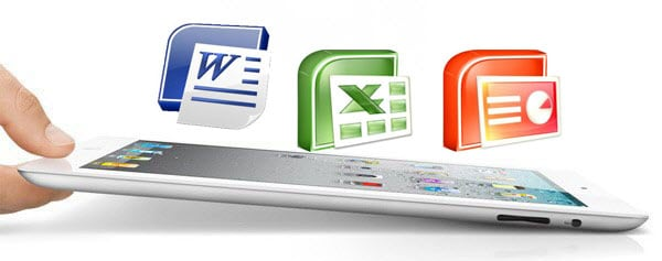 microsoft office documents to ipad